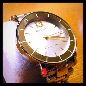Anne Klein Two Tone Leo Collection Watch